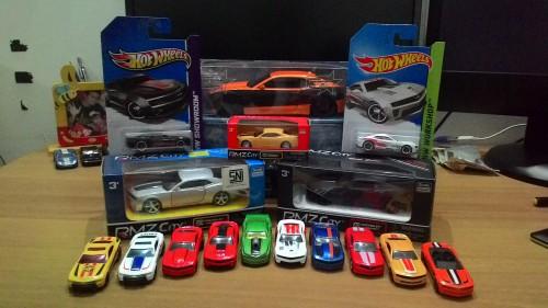Sebagian kecil koleksi mobil-mobilan saya